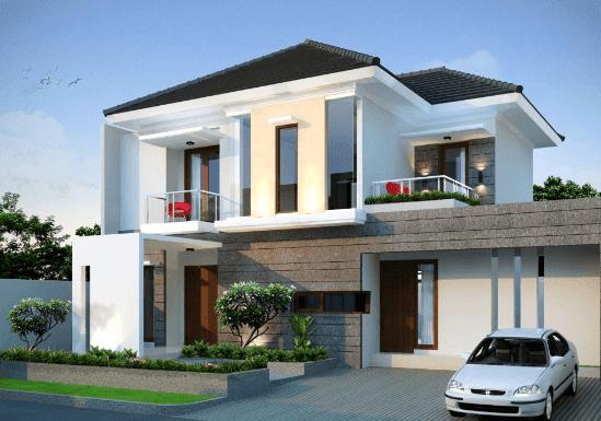 Desain Rumah Minimalis 2 Lantai 6x15 Godean Web Id
