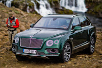 Bentley Bentayga Fly Fishing by Mulliner (2016) Front Side