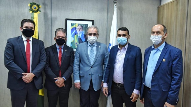Líder Hugo Motta se reúne com ministro da Saúde e discute novas ações na Paraíba