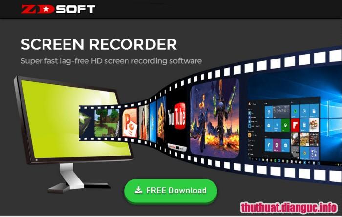 Download ZD Soft Screen Recorder 11.1.13 Full Key + Portable – Quay video màn hình