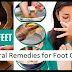 How To Get Rid Of The Unpleasant Foot Odor