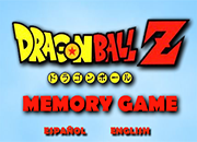 Dragon Ball Z Memory game 2 juego