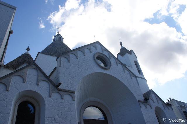 Chiesa trullo di Sant'Antonio, facciata esterna