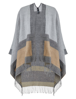 Marks and Spencer Per Una Colour Block Tassel Trim Wrap
