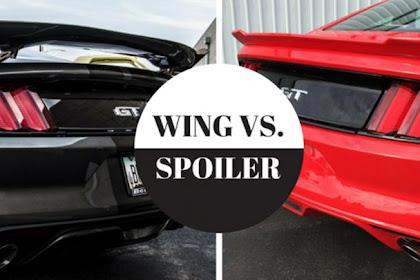 Catat, Ini Perbedaan Spoiler Dan Sayap ( Wing ) Pada Mobil
