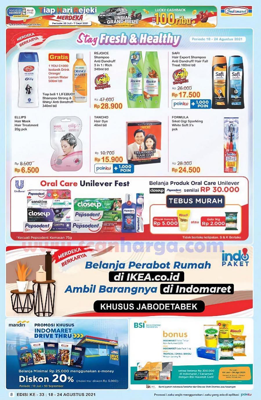 Katalog Indomaret Promo Terbaru 18 - 24 Agustus 2021 8