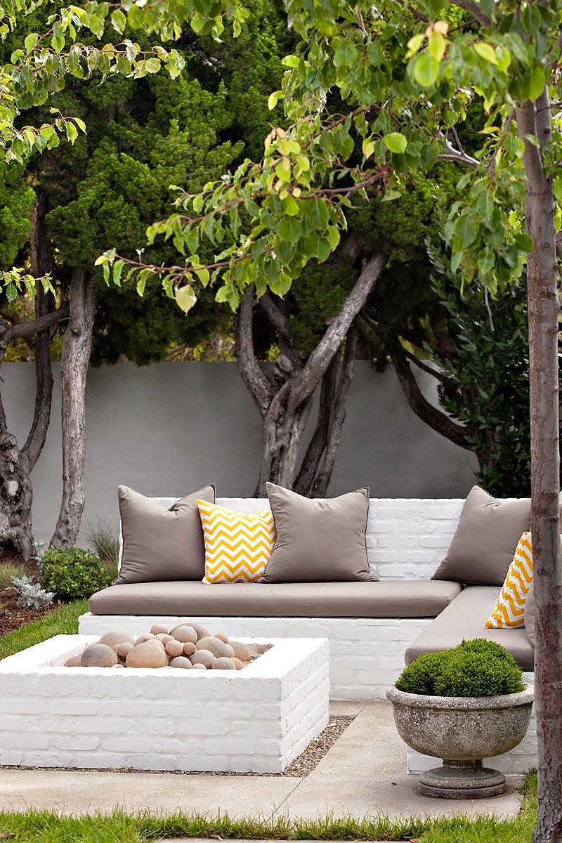 ciao! newport beach: molly wood garden design on Wooded Backyard Ideas id=86382