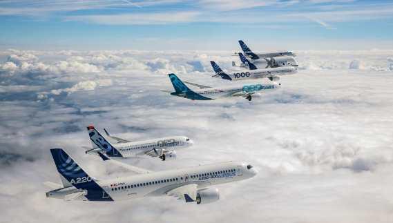 Airbus Memperkenalkan Konsep Pesawat Baru Diilhamkan sang Burung Pemangsa