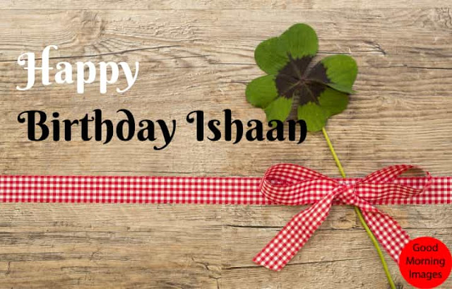 Happy Birthday images with name Ishani