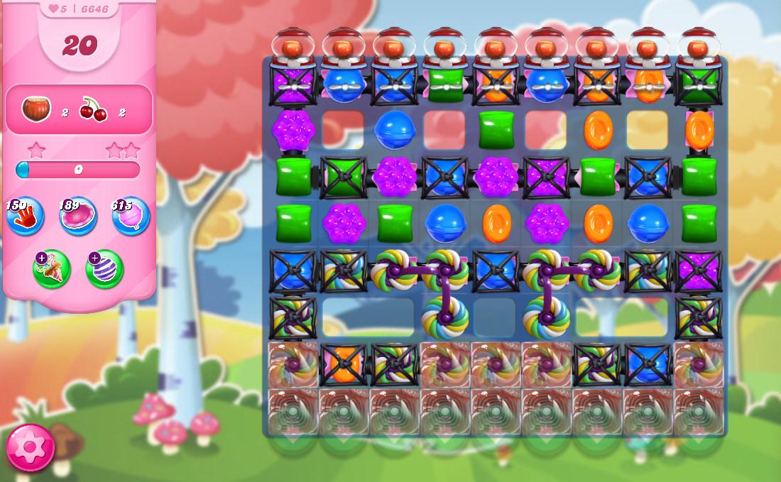 Candy Crush Saga level 6646