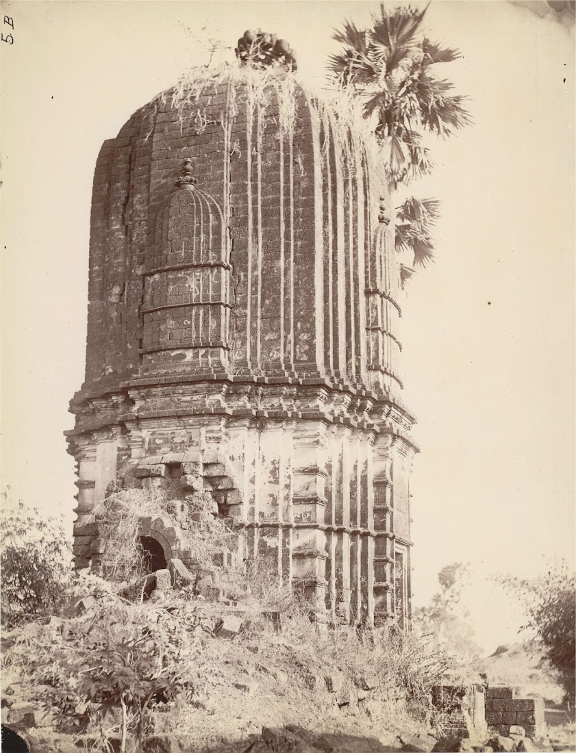 Temple at Chinpur, Bankura District - Bengal 1872