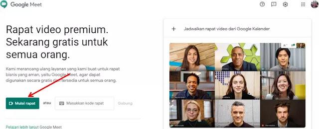 Cara Share Screen (Berbagi Layar) di Google Meet-1