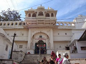 Lord Brahma Temple In Pushkar Rajasthan