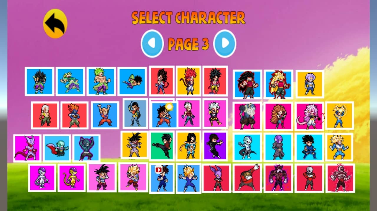 Power Warriors 13.0 Apk all Characters Unlock