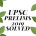 UPSC Prelims General Studies Paper-I Solved 2019 ( Hindi)