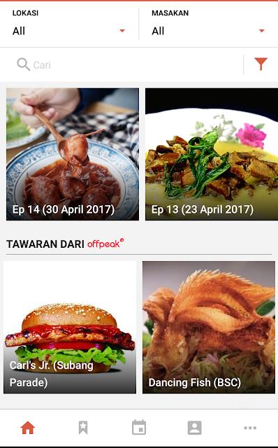 Mencari Tempat Makan Dengan Aplikasi Jalan Jalan Cari Makan