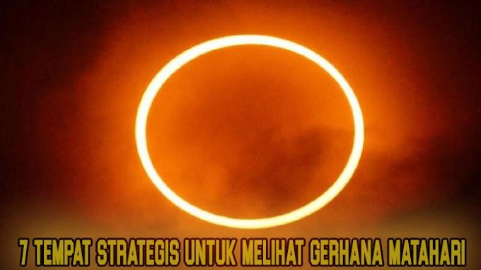 7 Provinsi Paling Strategis Untuk Melihat Gerhana Matahari,Untung Provinsi Saya Masuk.!:D