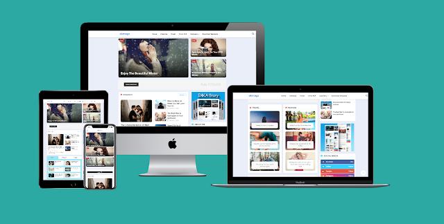 Inka Story - Latest Version - Premium Blogger Template Free Download.