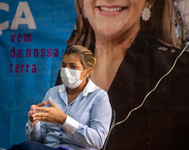 """""""Continuo na disputa!"""", afirma a pré-candidata a prefeita de Goiana Patrícia Amélia"""