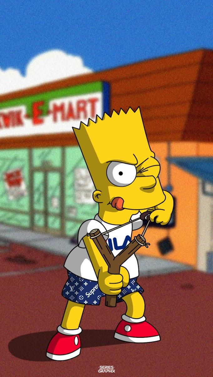 Papel de Parede para Celular do Bart Simpson