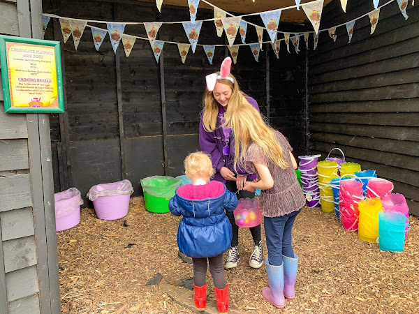 Review: Marsh Farm Easter Grotto and Easter Egg Hunt