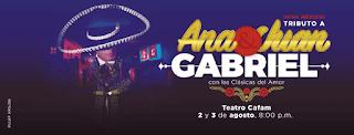 Concierto Tributo a Ana Gabriel y Juan Gabriel en Bogotá 2019