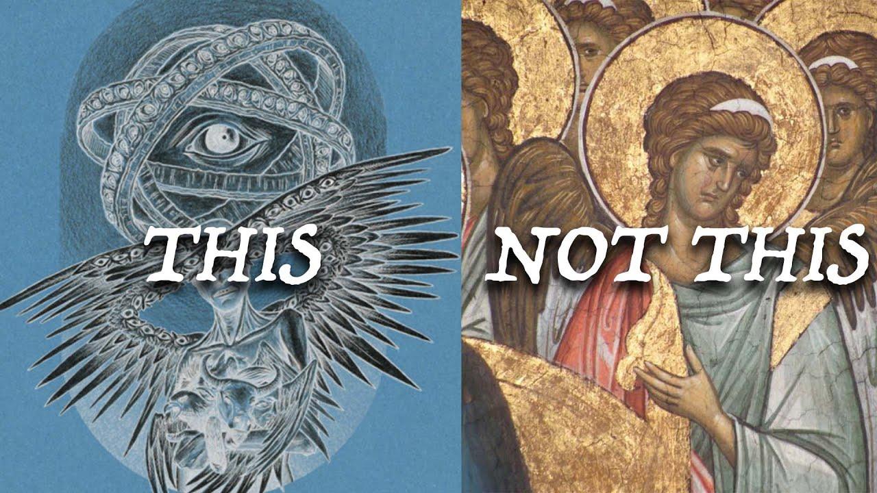 Bible, Angel, Description