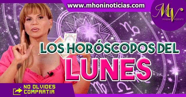 Los horóscopos del LUNES 1 de Marzo del 2021 - Mhoni Vidente