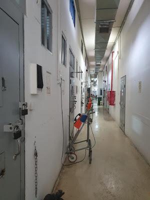 אגף בידוד והפרדה בבית הכלא