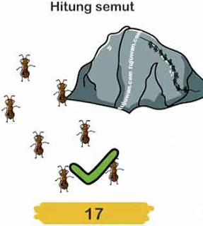 hitunglah semut pada brain out
