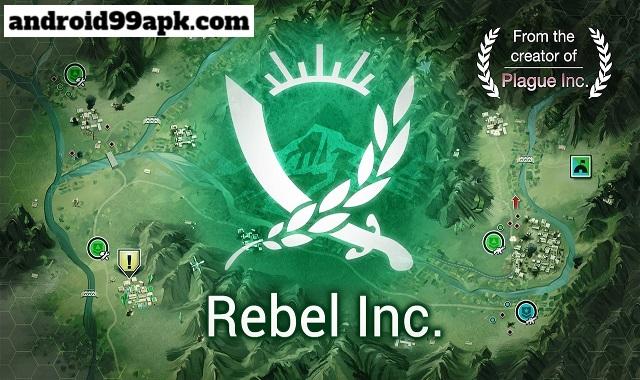 لعبة Rebel Inc.v1.6.0 lمهكرة بحجم 50 ميجابايت للأندرويد