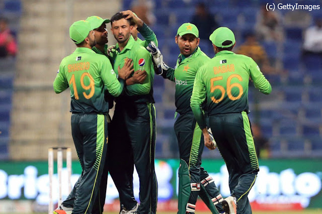 Pakistan cricket team vs sri lanka 2nd odi 2017
