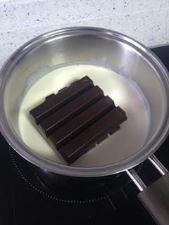 Derretir chocolate
