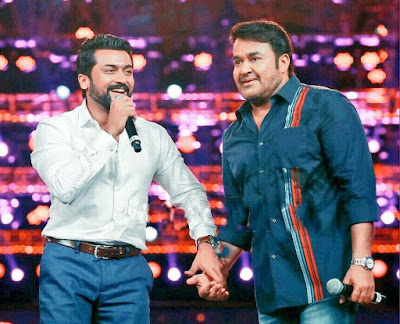 Surya-Mohanlal Joins Hand Surya37 Images