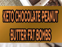 Keto Chocolate Peanut Butter Fat Bombs (Quick & Easy!)