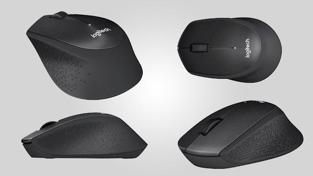 Review Mouse Logitech M331 Silent Plus