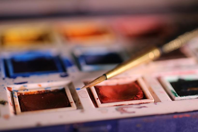 recette de l'aquarelle maison