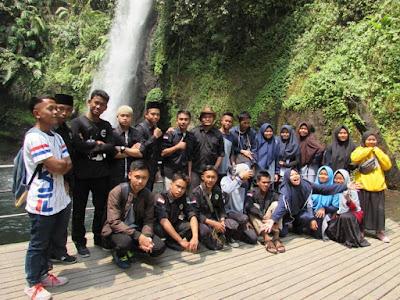 curug sawer wisata situ gunung Sukabumi