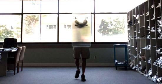 Escudo Invisibilidade - Capa
