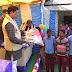 প্রত্যন্ত চা বাগিচা এলাকার ছাত্রছাত্রীর মধ্যে বিদ্যালয় সামগ্রী বিতরণ