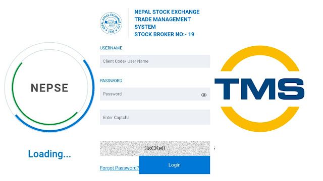 How to trade shares from TMS in Nepal
