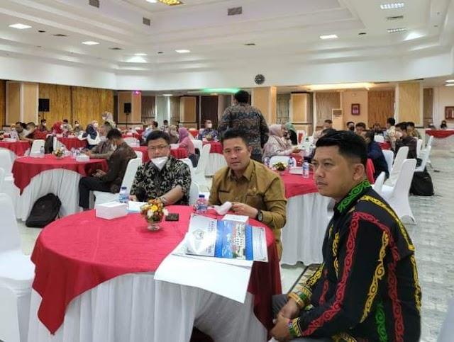 Sekda Bener Meriah Drs. Haili Yoga, M.Si Hadiri dan Ikuti Kegiatan Raker LHKPN Tahun 2021 Bersama KPK