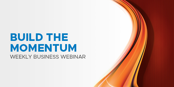 Keep the momentum and join tonight's webinar! 07.08.2020
