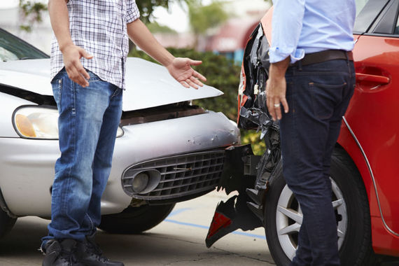 Who should pay my compensation in the event of a car accident