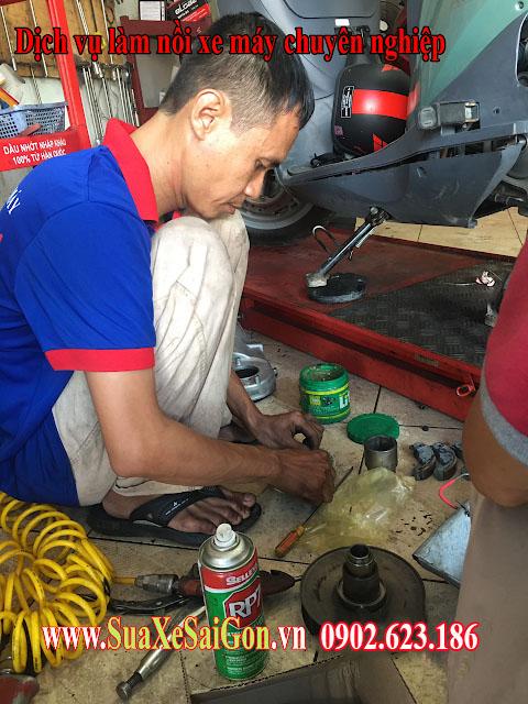 Sửa xe Honda Vision chuyên nghiệp tại HCM