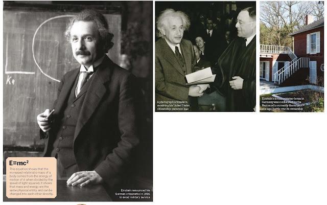 Five facts: Einstein