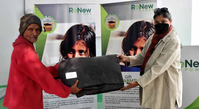 ReNew Power to distribute 16,000 blankets as part of Gift Warmth drive in Rajasthan