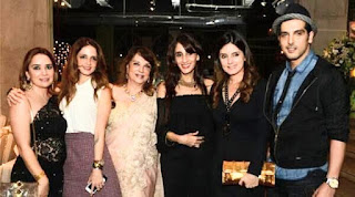 Sussanne Khan all families