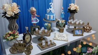 Decoração de festa infantil Cinderela em Porto Alegre