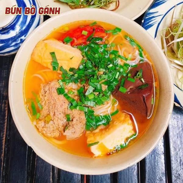 Bún Riêu - Crab Paste Vermicelli Soup